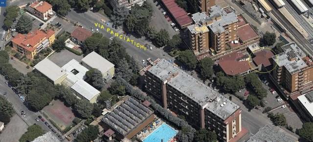 foto aerea laterale dello studio