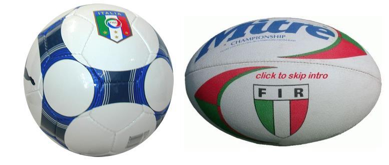 immagine di una palla sferica e una ovale
