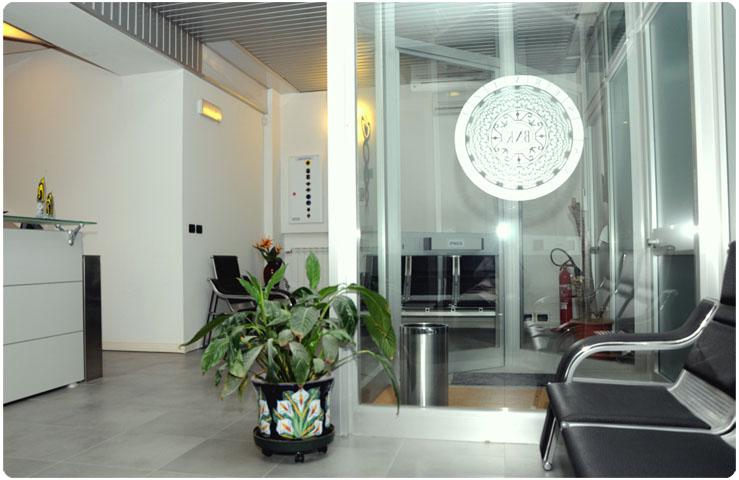 Foto della sala di attesa
