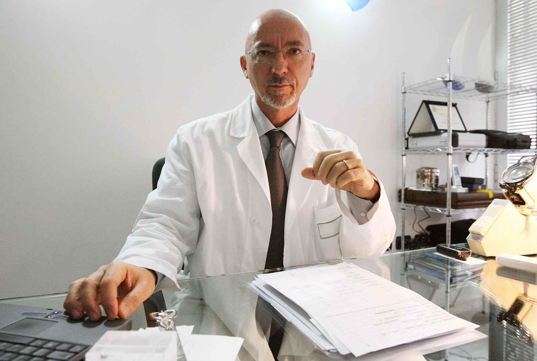 Foto del dottor Giuseppe Panzardi